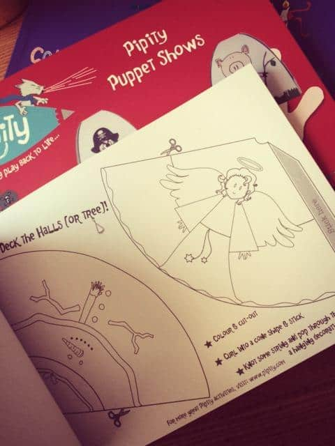 Book that has pictures of angels in