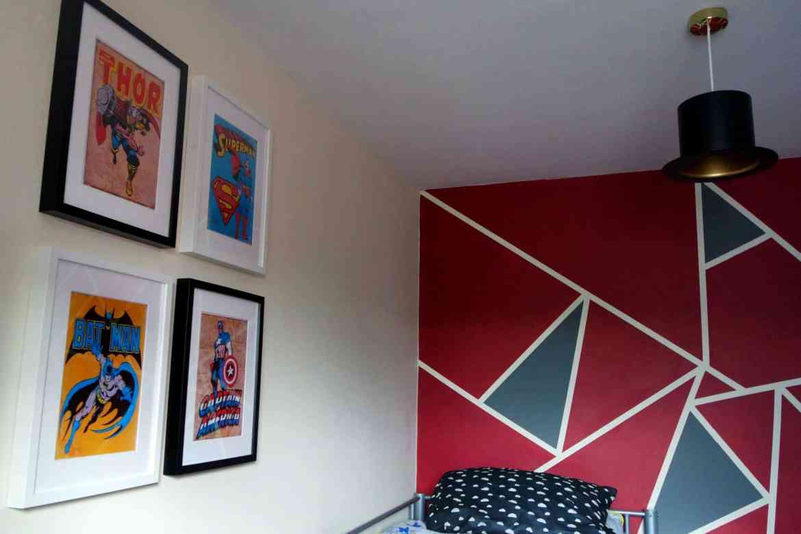 Superhero bedroom pictures