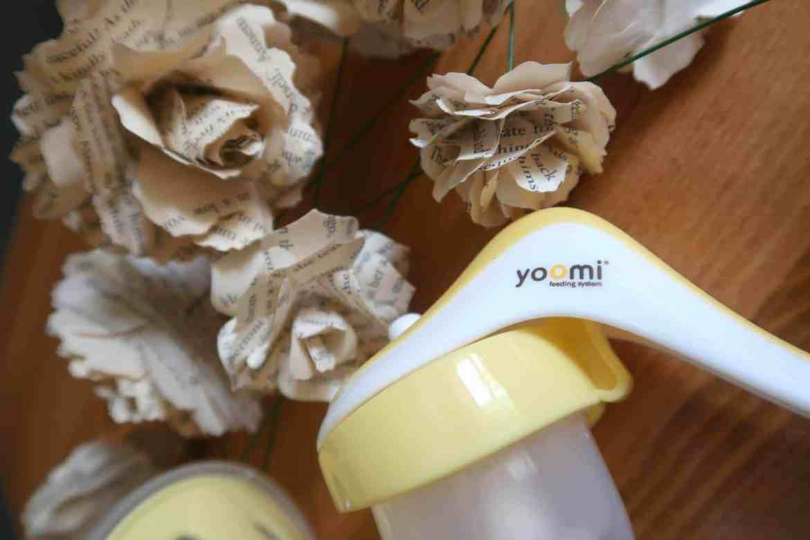 Yoomi breast pump