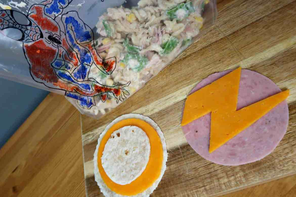 Wrap filling ideas for childrens lunchbox