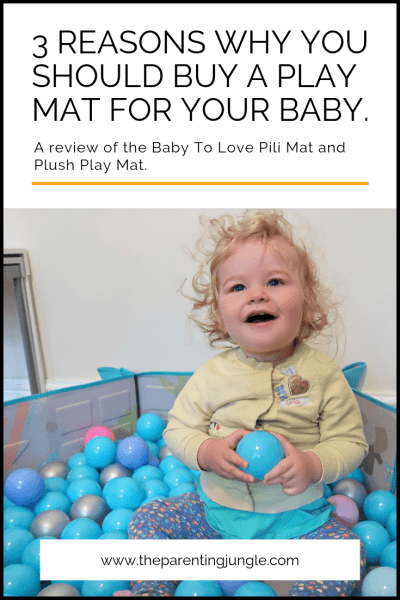 Baby to Love Pinterestpin reiew of play mat