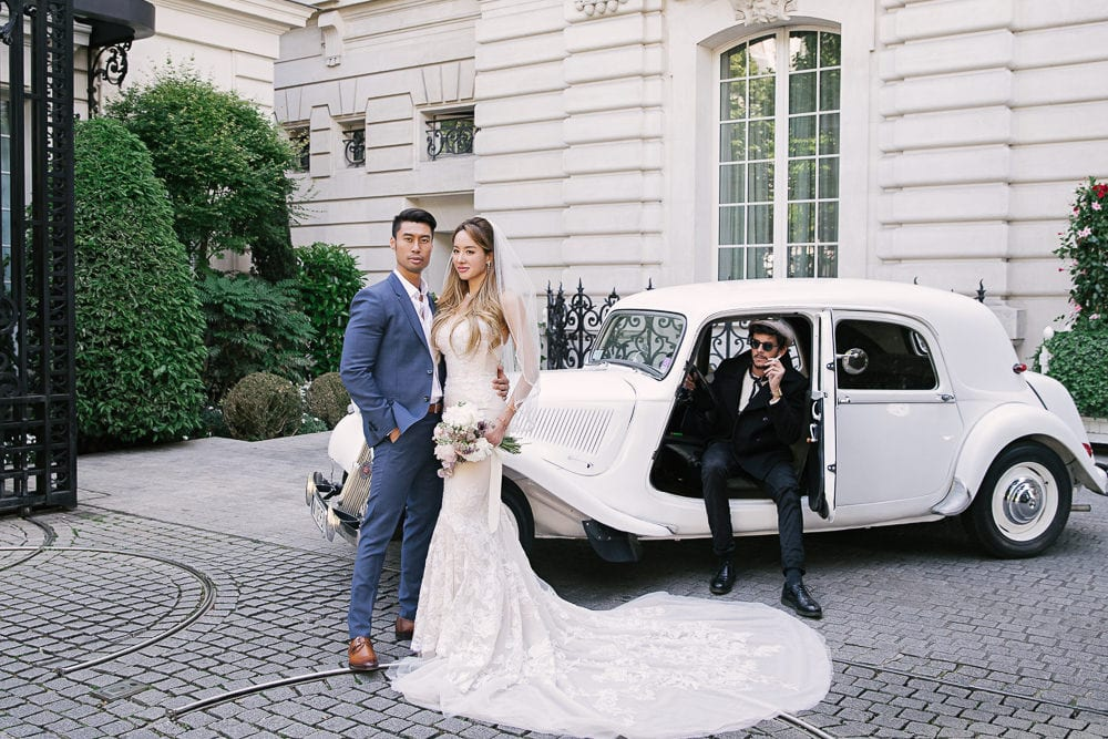 Elopement in Paris - Transportation around Paris on your wedding day