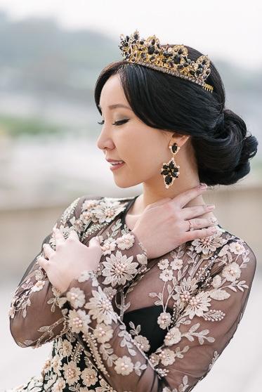 Paris wedding photoshoot package - Bridal hair and make-up