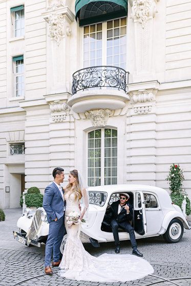 Pre wedding photo package Paris - Transportation