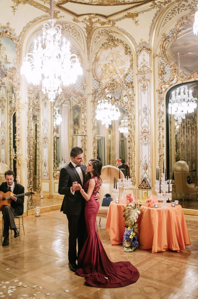 paris proposal ideas - celebrating with a romantic dinner