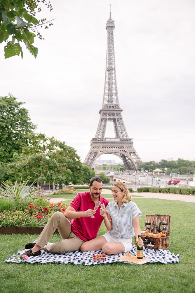 yes in paris - celebrating with a romantic picnic