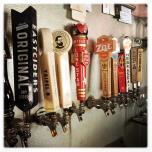 parlor beer taps