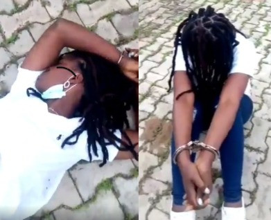 Police Identifies, Arrests Officers who Dehumanise Lady in a Viral video