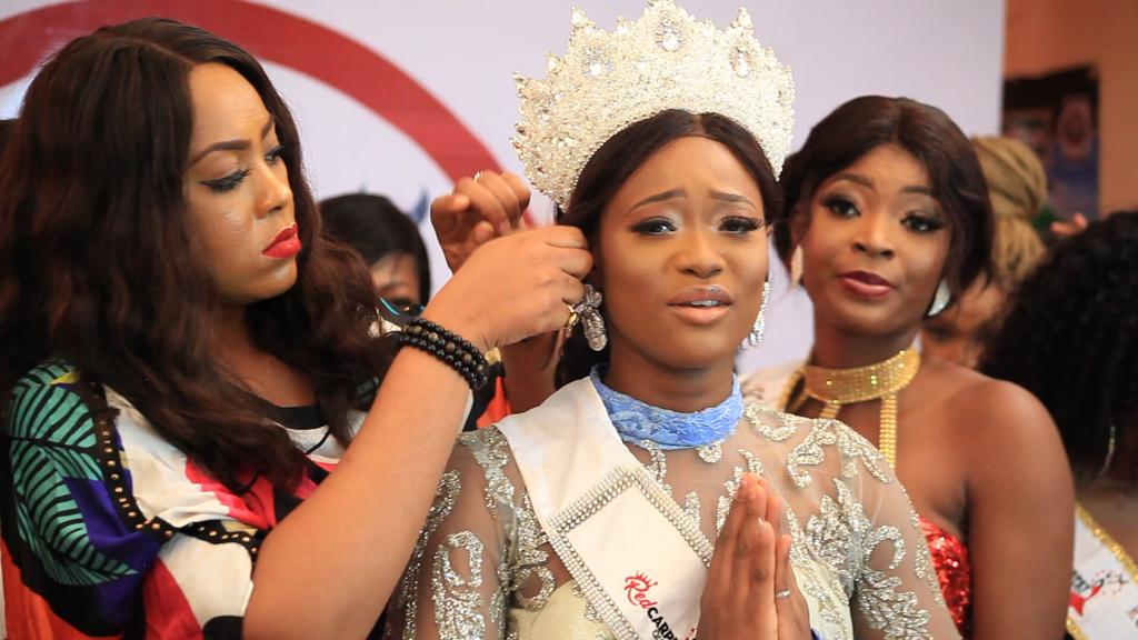 Indian University Graduate Crowned Red Carpet Beauty Pageant