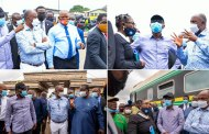 Sanwo-Olu, Amaechi Inspect Site of Train Accident