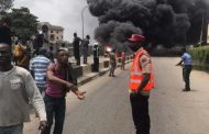 Fire Guts LASTMA  Headquarters