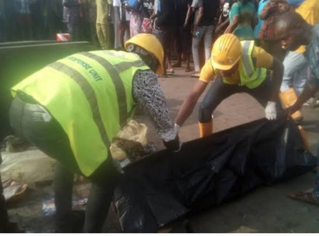 Update: 13 dead, 25 Houses, 16 Shops Razed by Lagos Gas Explosion