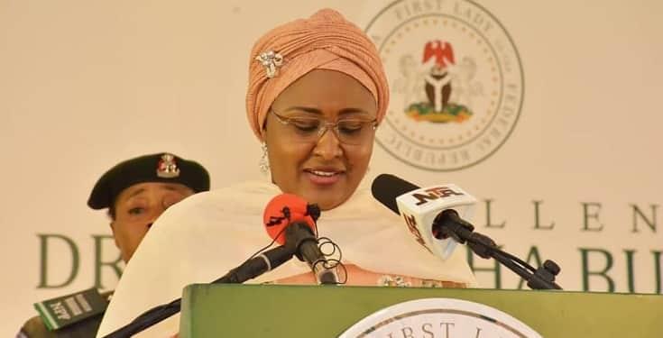 EndSARS: Aisha Buhari Joins Protest, Says All Lives Matter