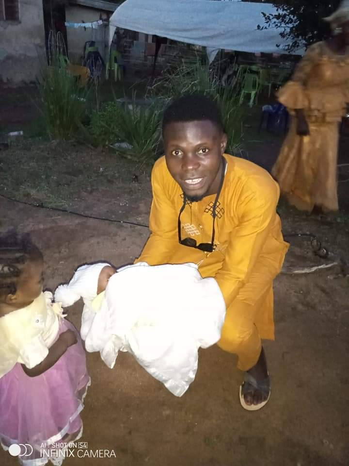 Father Names New Baby 'Nigeria', Explains Reasons