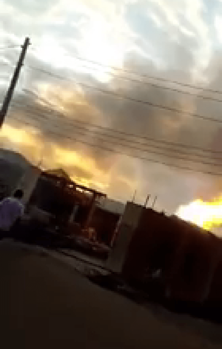 One Dead, Houses Razed in Baruwa, Lagos aGas Explosion