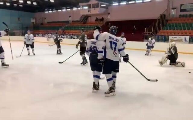 Breaking the ice: Israel-UAE hockey match makes history