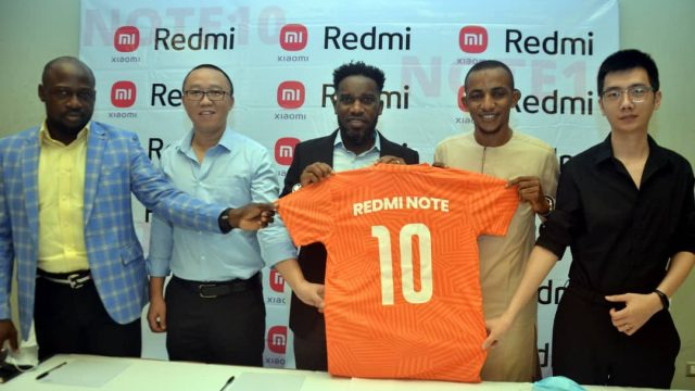 Xiaomi's Redmi Note 10 for Launch April Six as Firm Signs Okocha as Brand Ambassador