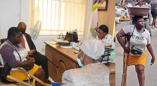 Amputee Hawker: Lagos Detects Lies in Claims, Withholds N25m Support