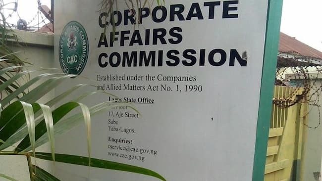 CAC Reduces Registration Timeline For New Firms