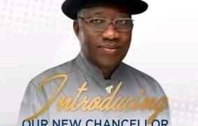 Ugandan University Appoints Former President, Goodluck Jonathan as Chancellor