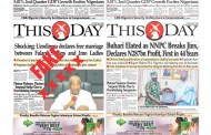 Thisday Reacts to Fake Digital Edition of Front Page in Circulation