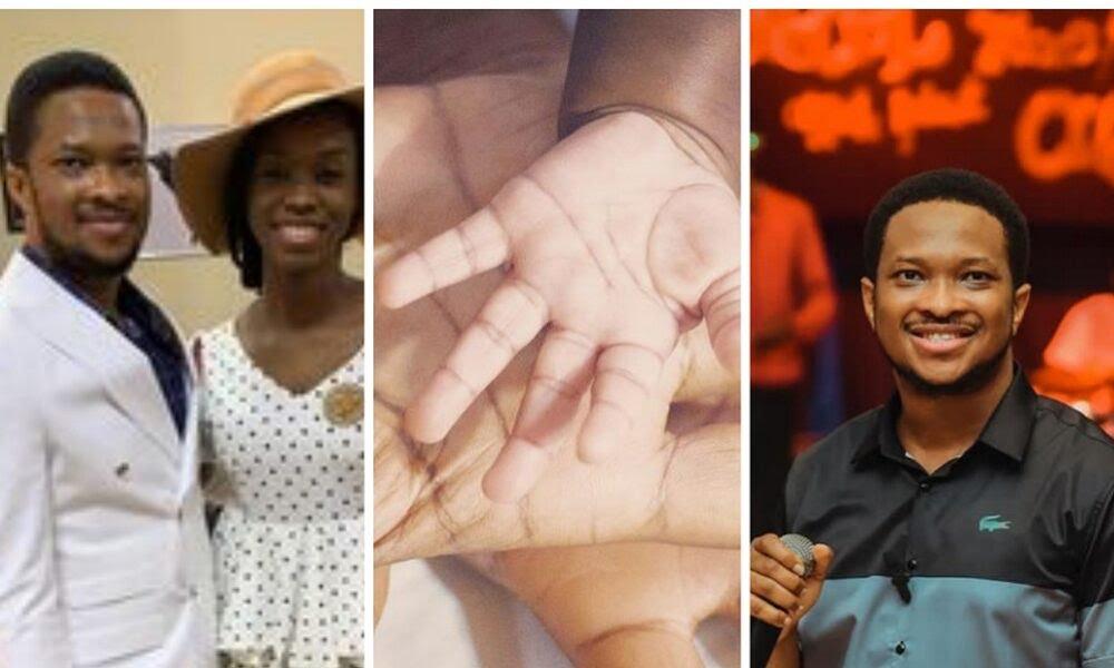 Gospel Artiste ,Mike Bamiloye Welcomes Grand Son