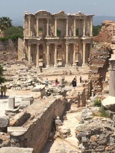 The Library of Celsius in Ephesus.