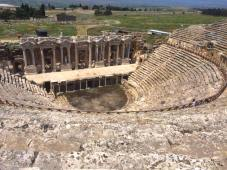 The amphitheatre at Hierapolis.