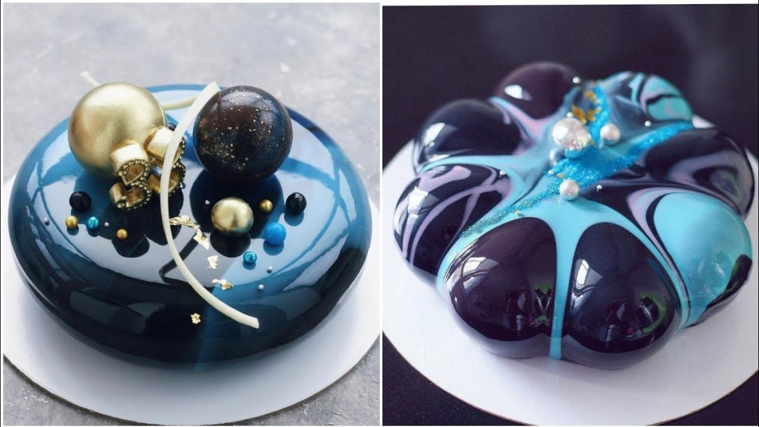 MOST SATISFYING MIRROR GLAZE CAKE DECORATING COMPILATION #2