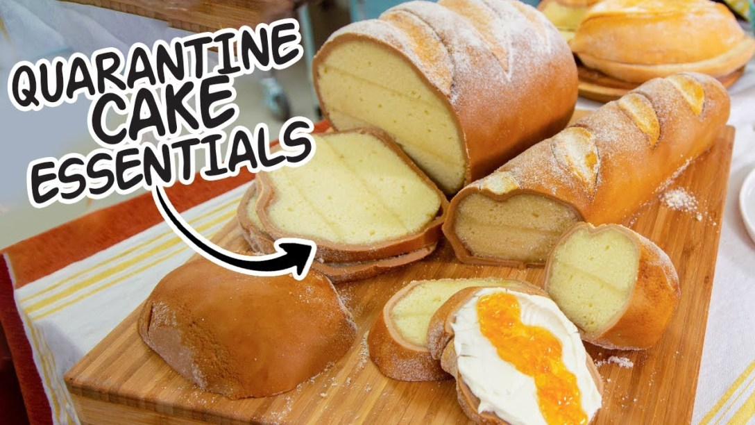 Stay Home Essentials... in CAKE | How To Cake...