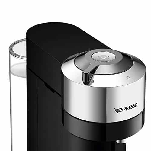 Nespresso Vertuo Next Deluxe By Magimix Coffee Capsule Machine With Aeroccino Milk Frother Chrome 11713 0 1