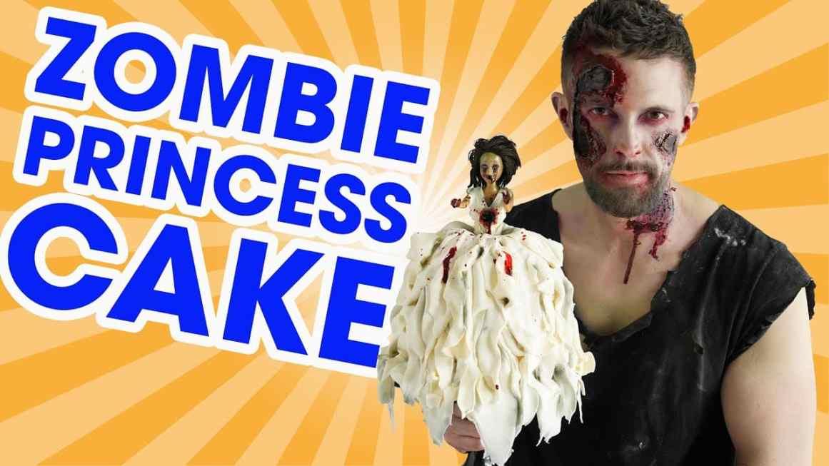 Zombie Princess Cake