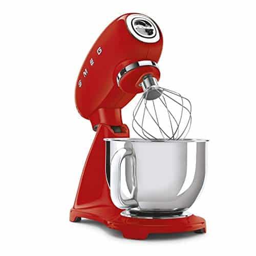 Smeg SMF03RDUK 50s Retro Style Stand Mixer Red 0 2