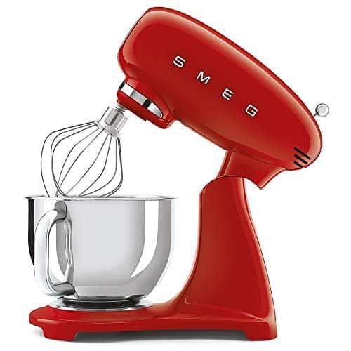 Smeg SMF03RDUK 50s Retro Style Stand Mixer Red 0 3