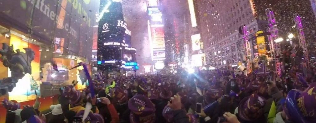 new year's in times square