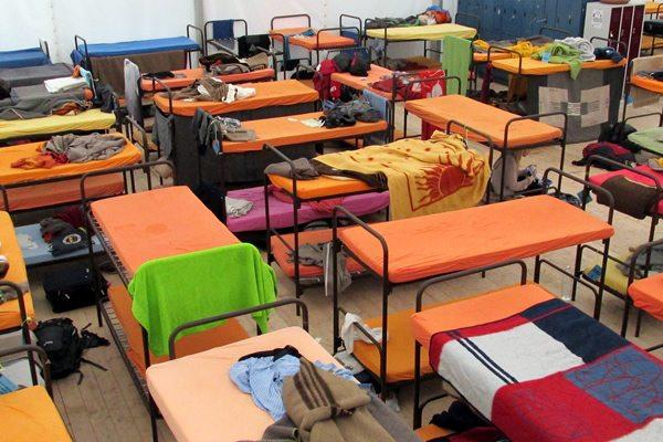 hostel beds the tent munich