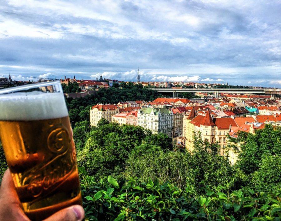 prague beer gardens