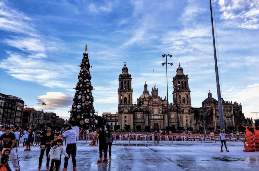 mexico city ice skating