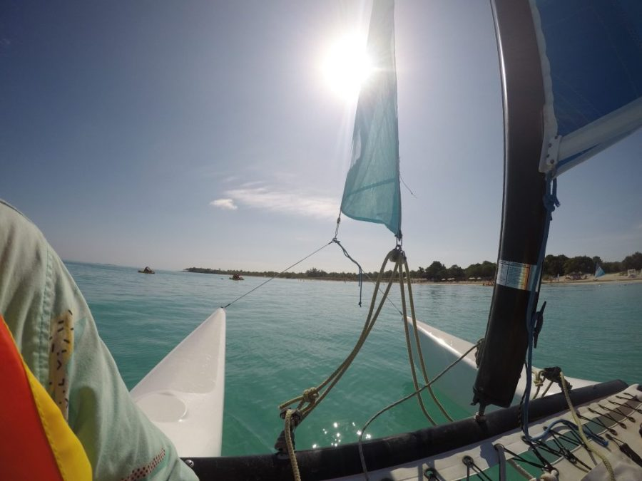 sailing in varadero cuba