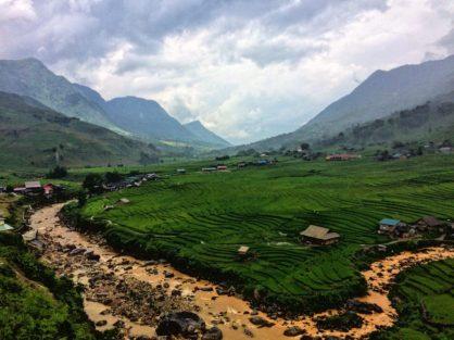 sa pa vietnam trek