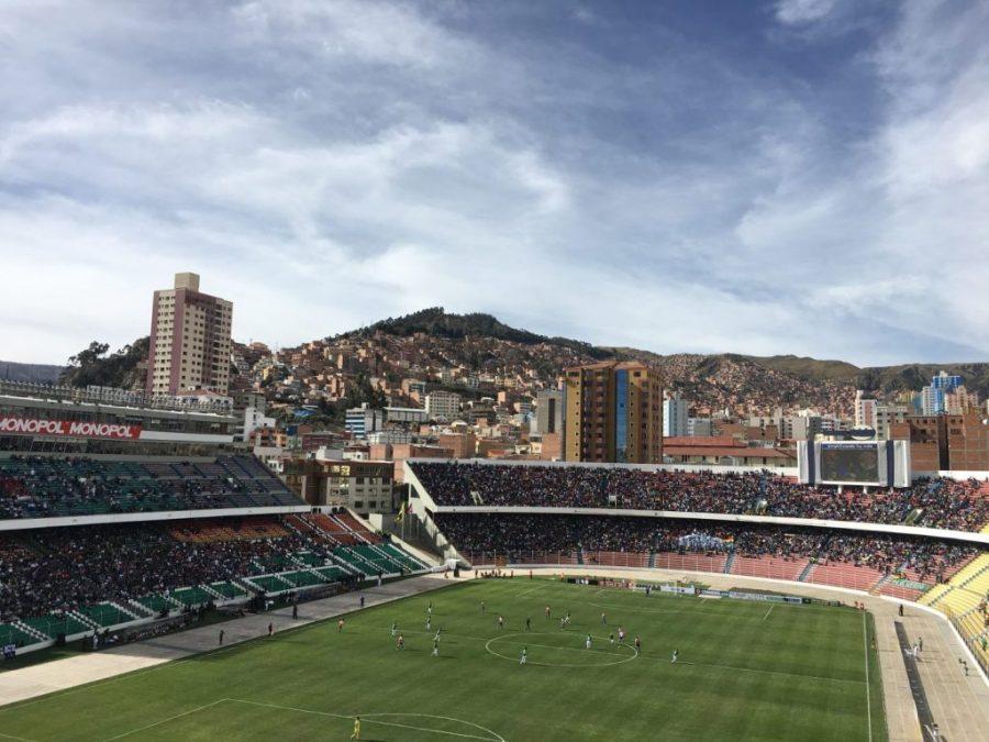 la paz football stadium