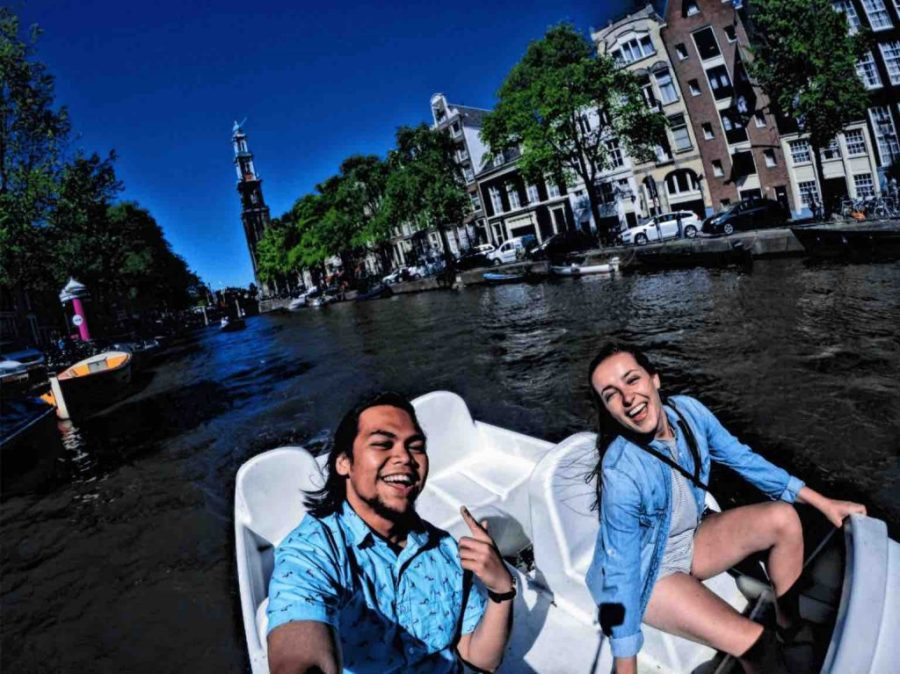amsterdam paddle boat