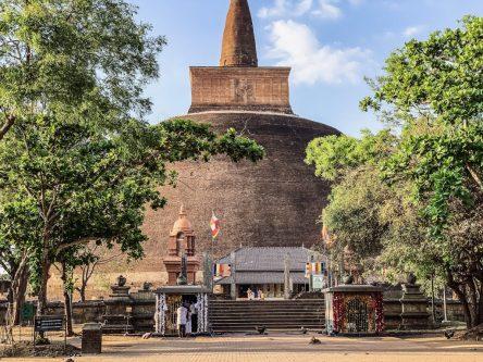 Anuradhapura Sri Lanka Dagoba