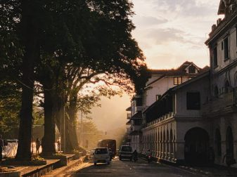 kandy sri lanka sunset