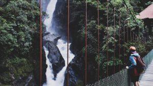 banos waterfall