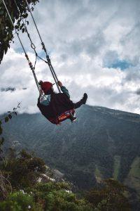 swing at the end of the world banos ecuador