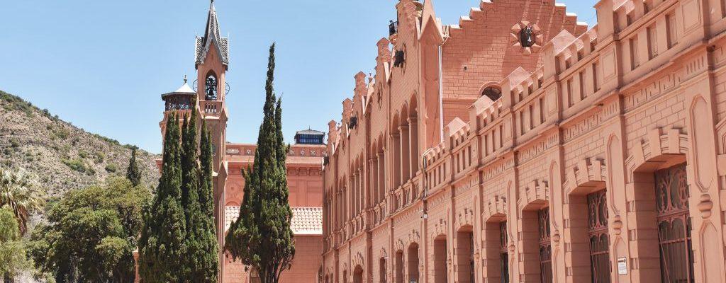 pink palace sucre bolivia