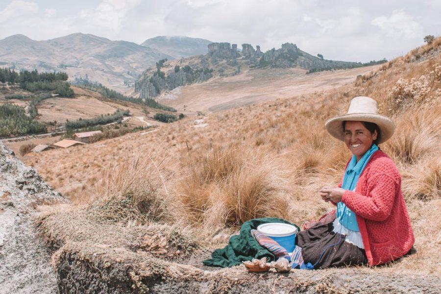 quechua cajamarca peru
