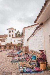 chinchero market cusco peru