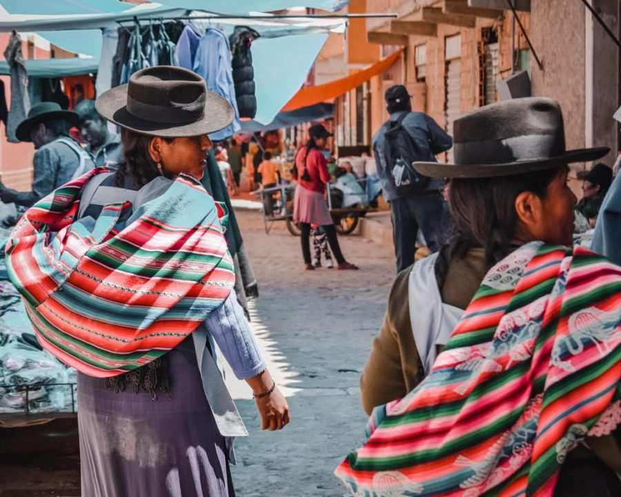 bolivia tarabuco sunday market
